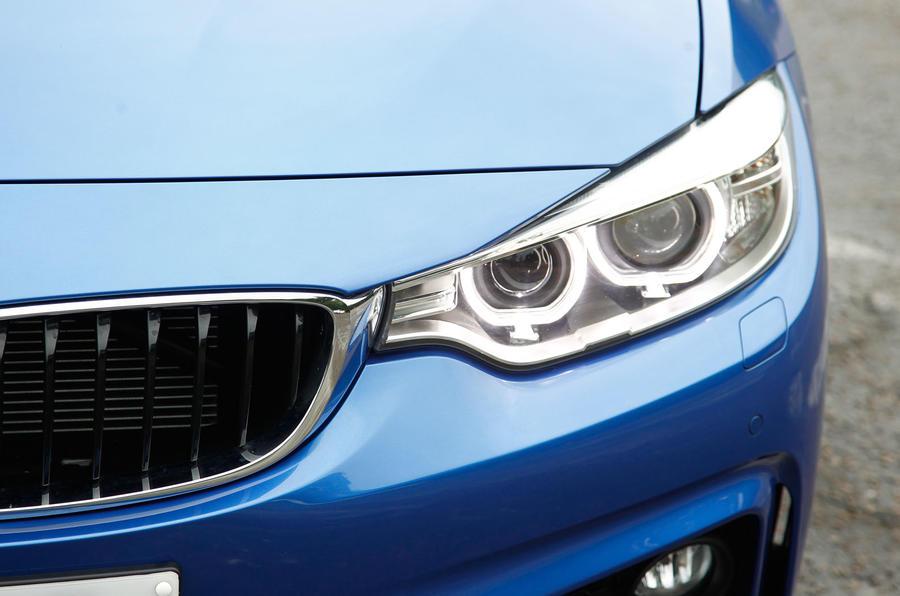 BMW 4 Series xenon lights