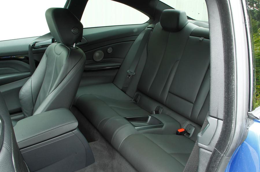 BMW 4 Series rear seats