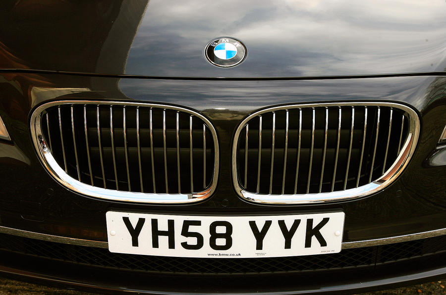 BMW 7 Series front kidney grille