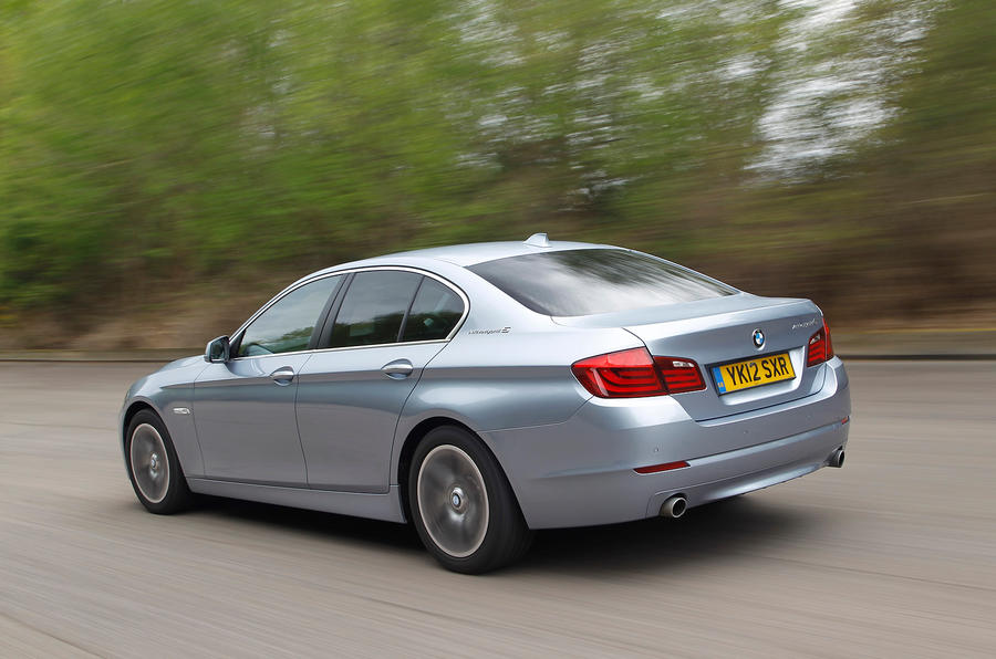 BMW ActiveHybrid 5 rear quarter