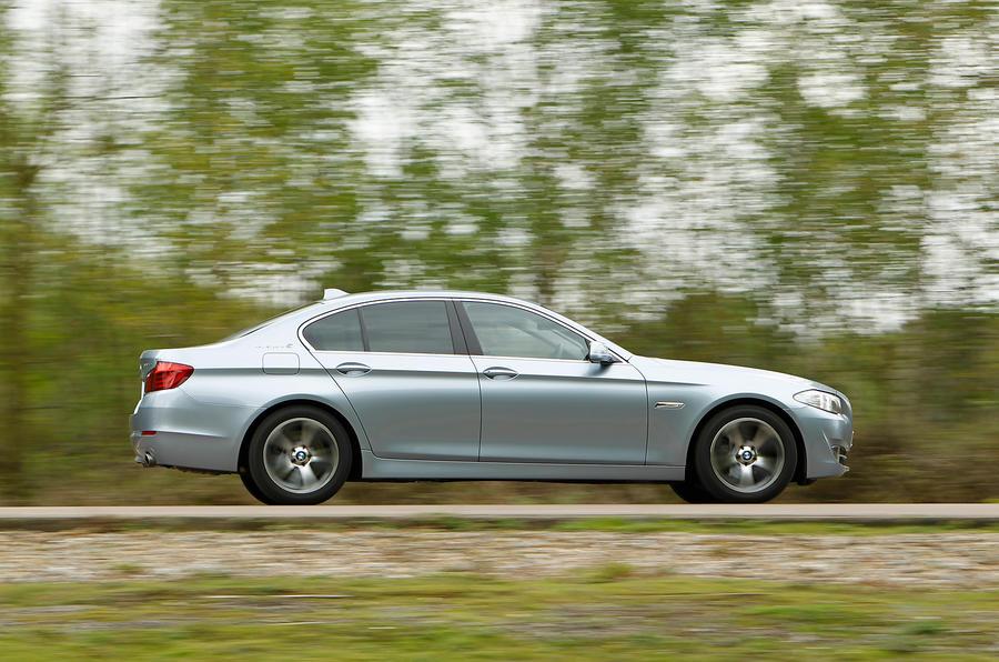 BMW ActiveHybrid 5 side profile