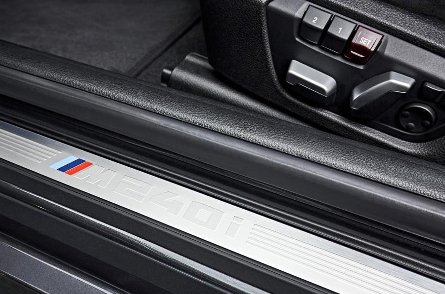 BMW M240i kick plates
