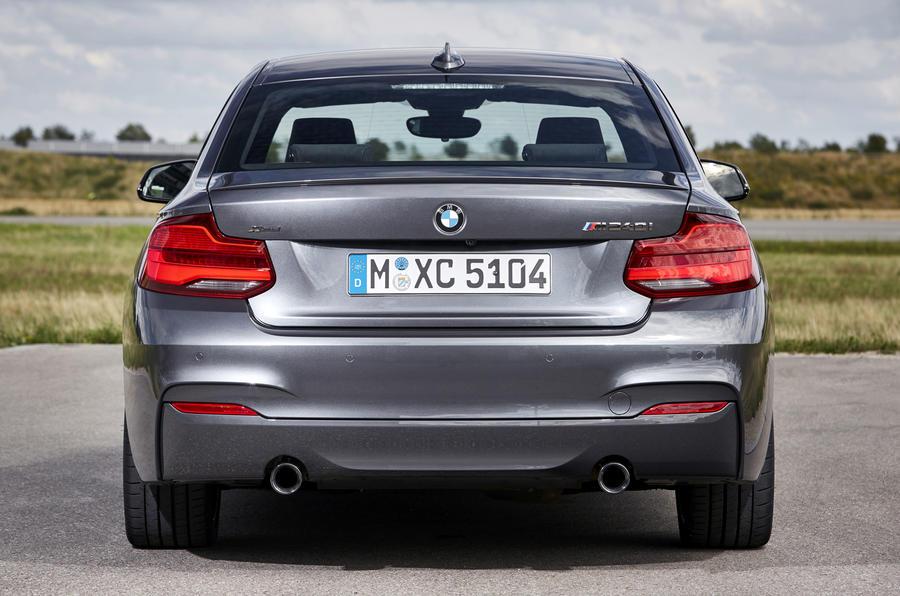 BMW M240i rear end