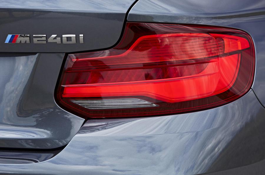 BMW M240i rear LED lights