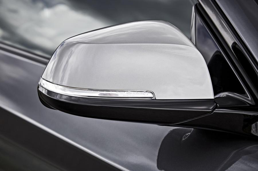BMW M240i wing mirrors