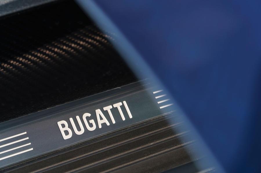 Bugatti Chiron badging
