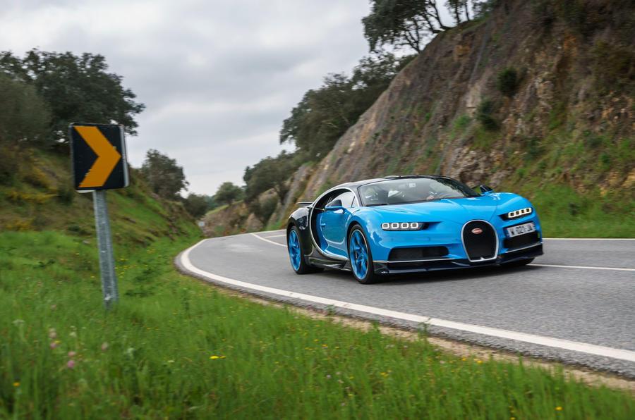 Bugatti Chiron front quarter