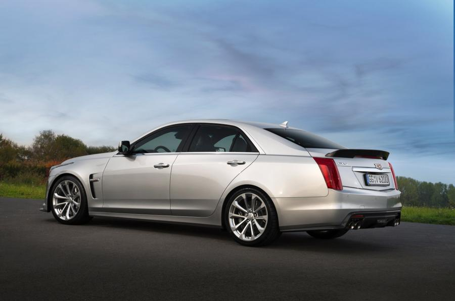 Cadillac CTS-V rear quarter