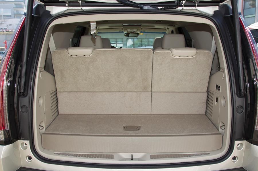 Cadillac Escalade boot space