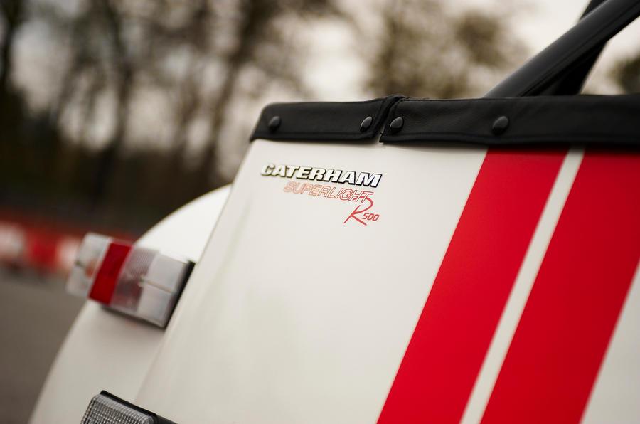 Caterham Seven Superlight tailight