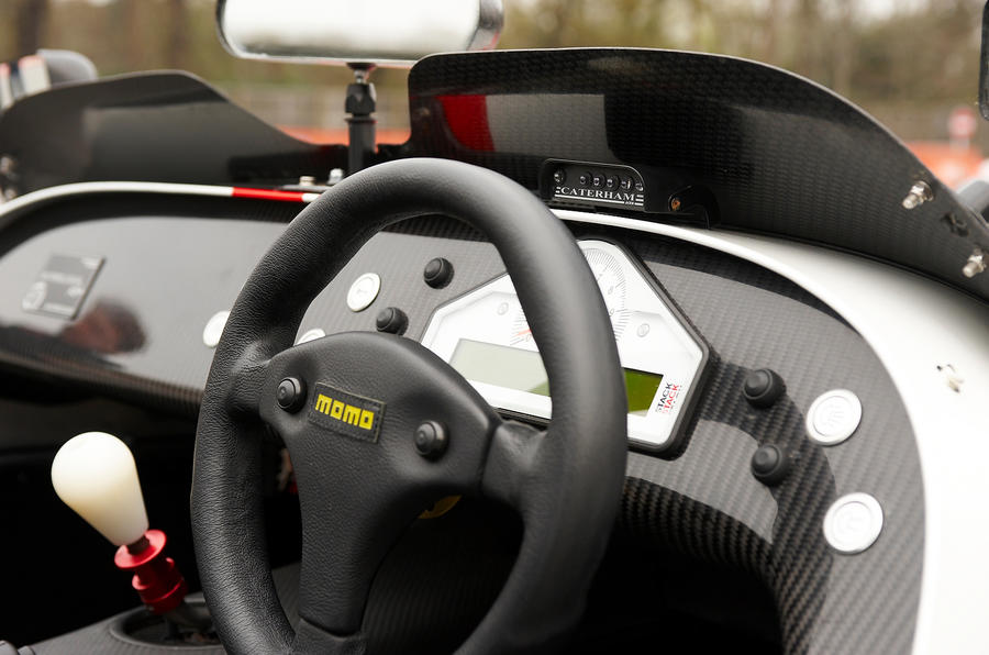 Caterham Seven Superlight steering wheel