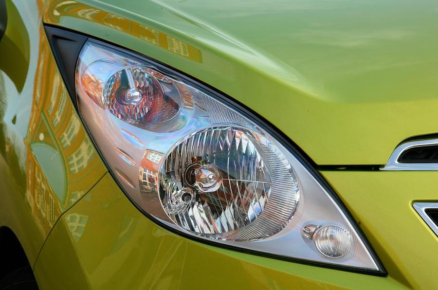 Chevrolet Spark headlight