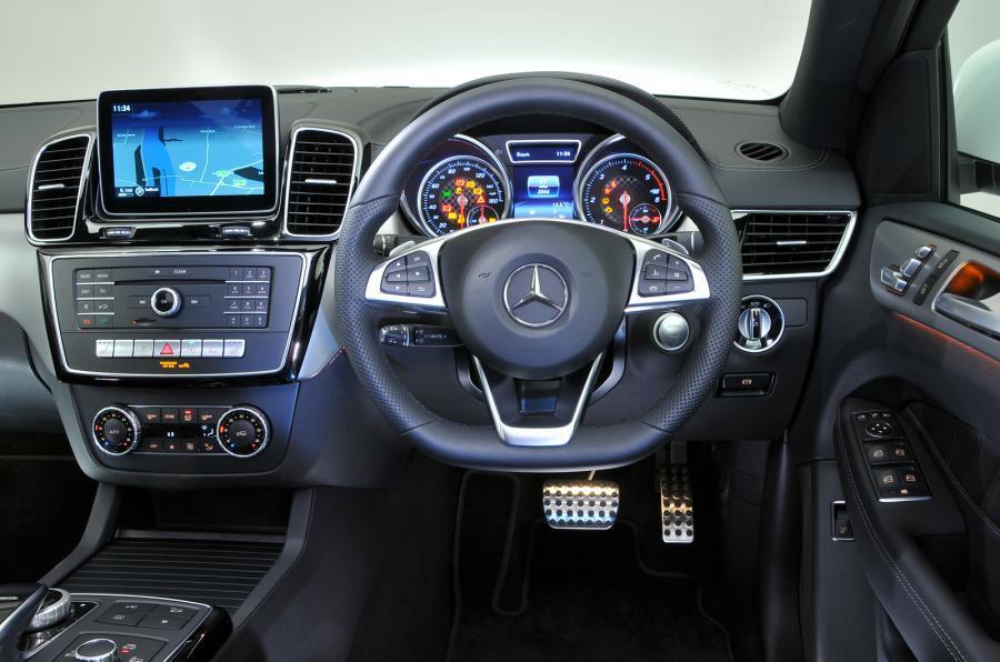 Mercedes-Benz GLE Coupé dashboard