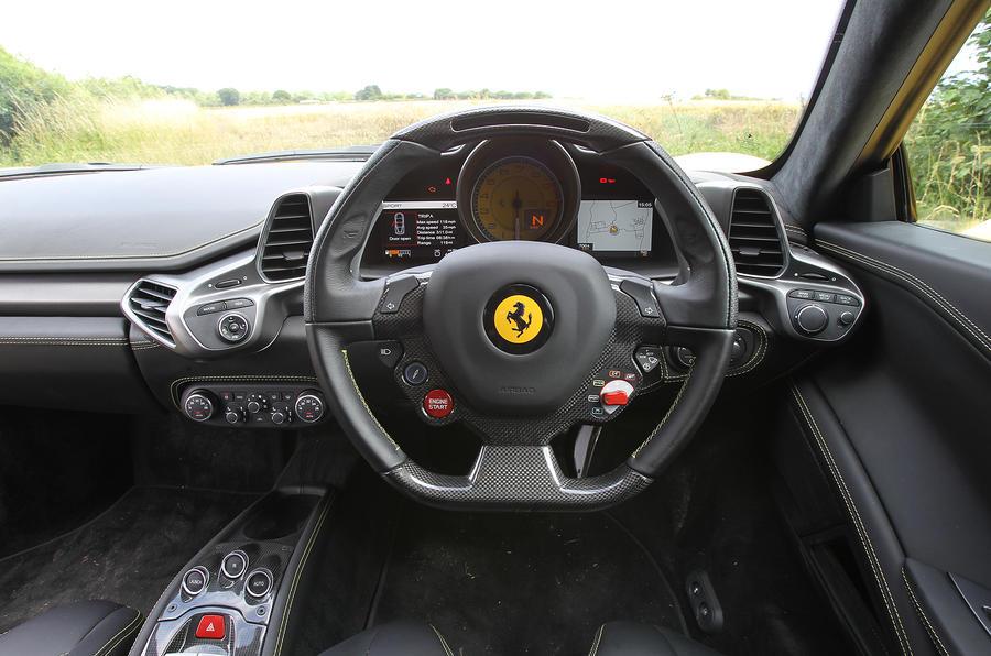 Ferrari 458 dashboard