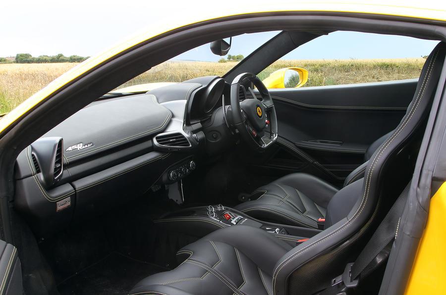 Ferrari 458 interior