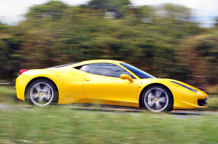 The 562bhp Ferrari 458