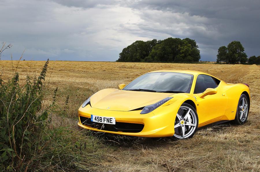 5 star Ferrari 458