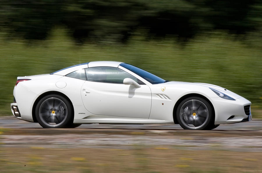 Ferrari California side profile