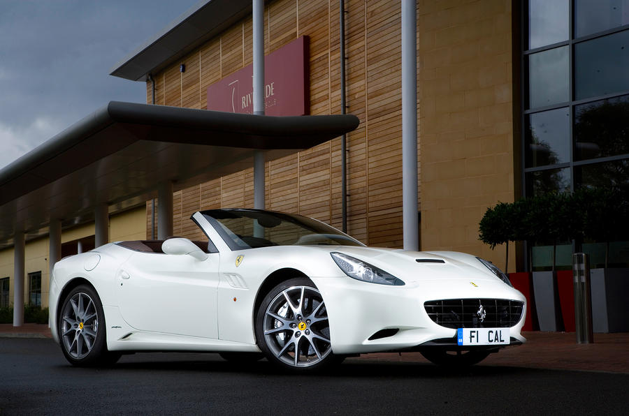 4 star Ferrari California