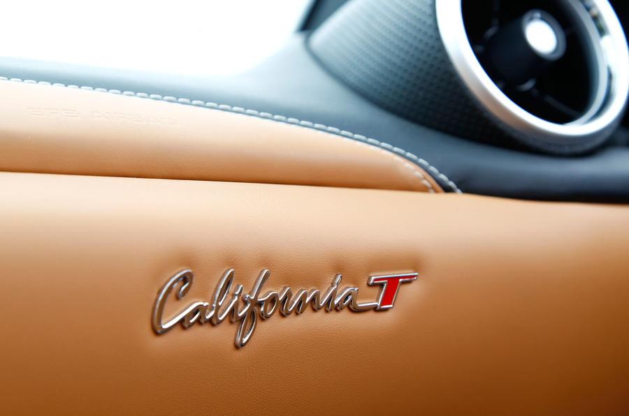 Ferrari California T badging