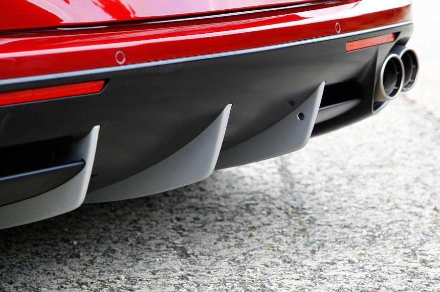 Ferrari California T rear diffuser