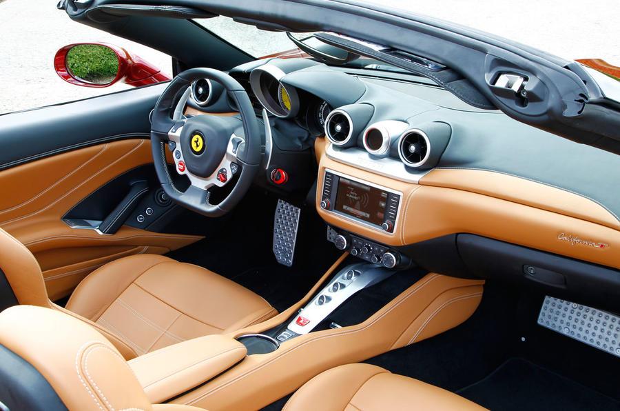 Ferrari California T interior