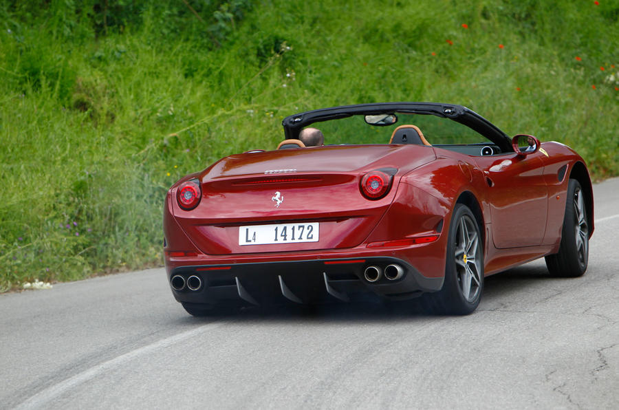 Ferrari California T rear cornering