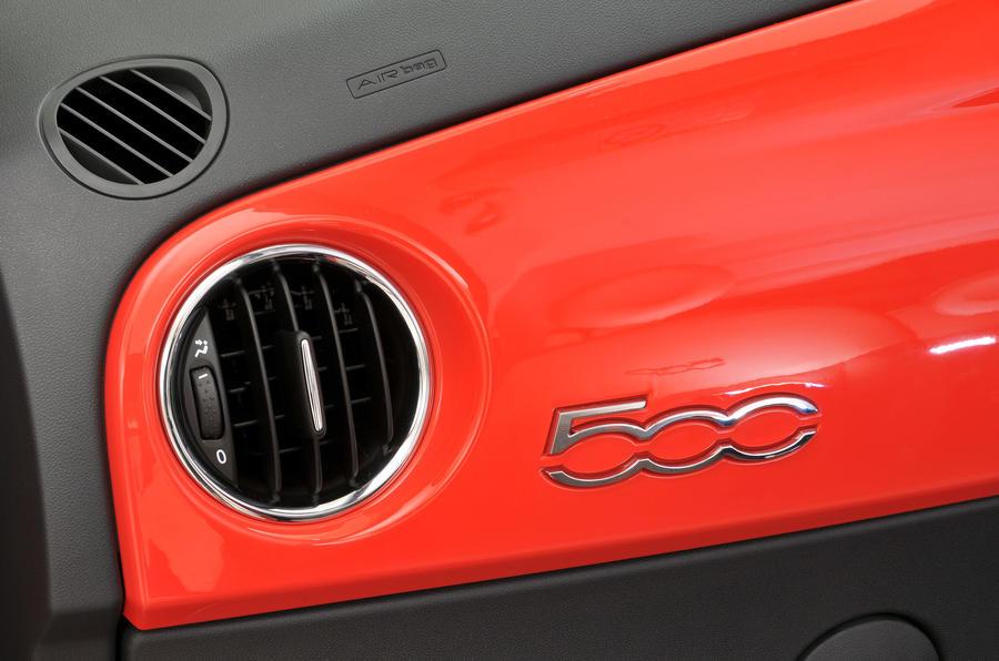 Fiat 500 air vents