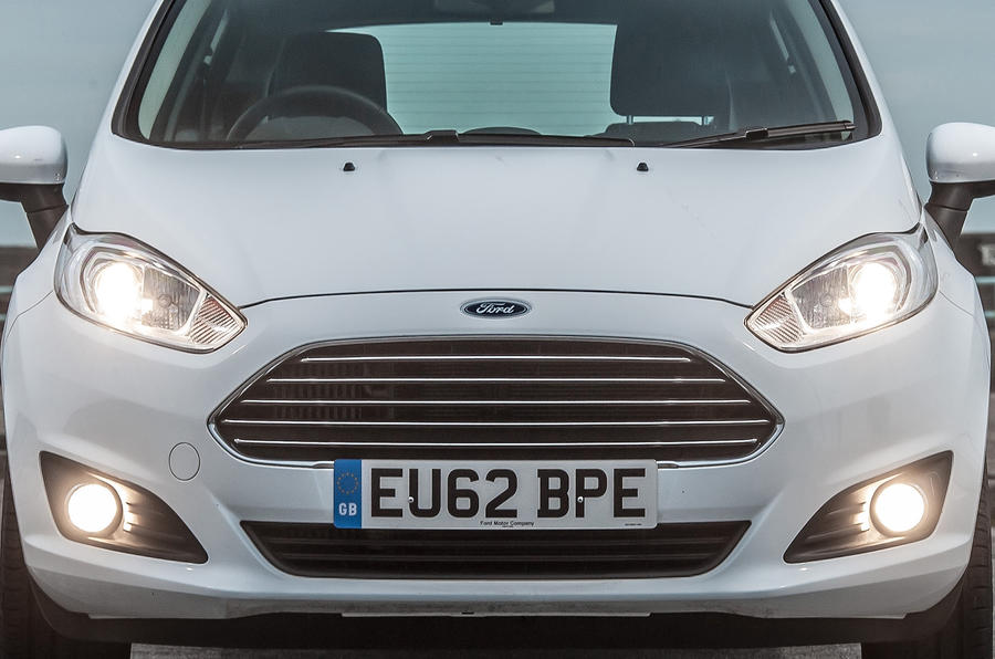 Ford Fiesta front end