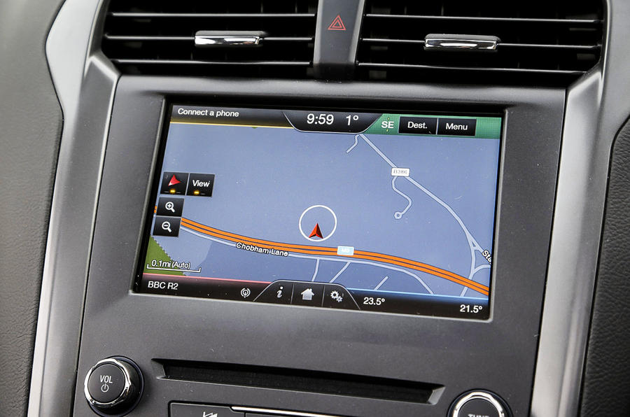 Ford Mondeo infotainment system