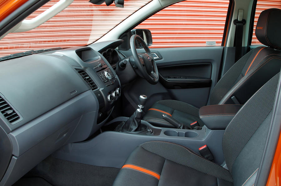 Ford Ranger front seats