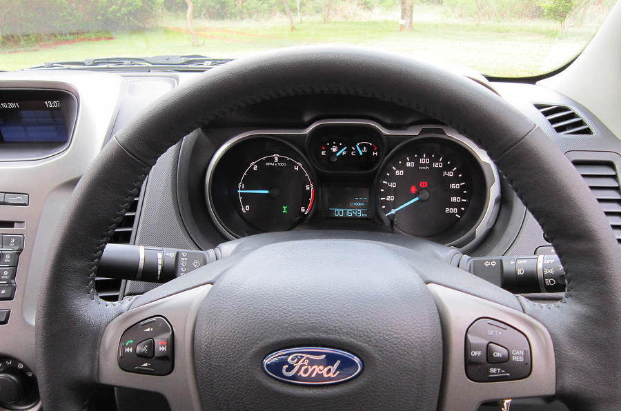 Ford Ranger instrument cluster