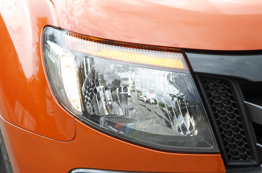 Ford Ranger headlight