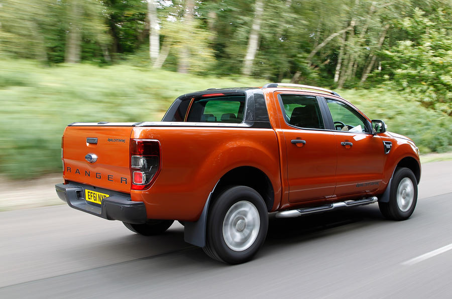 Ford Ranger rear quarter