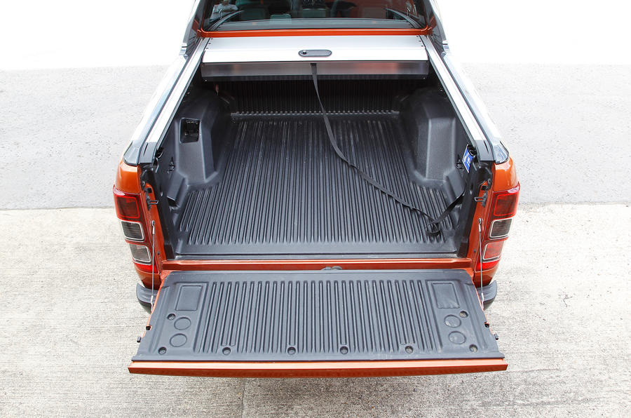 Ford Ranger rear loadspace