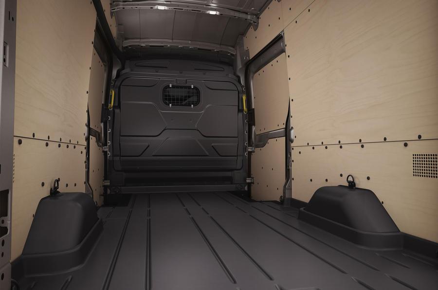 Ford Transit rear loadspace