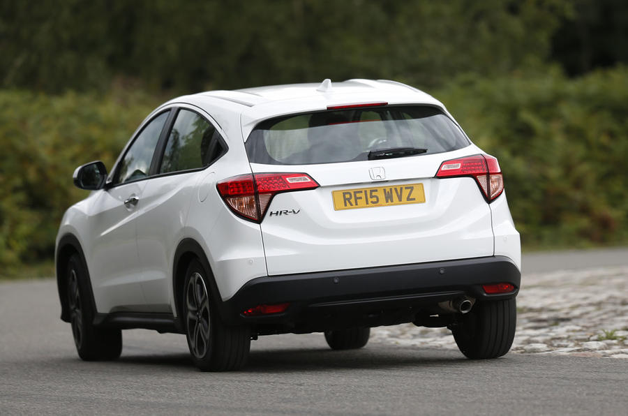 The Honda CR-V's stability control is well judged for a car of this kind
