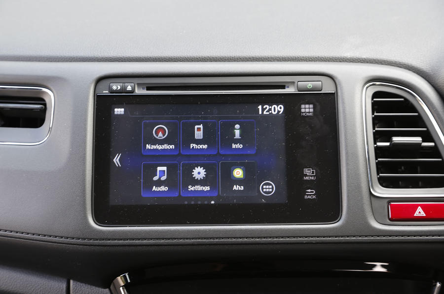 Getting to grips with Honda's latest Connect system in the HR-V