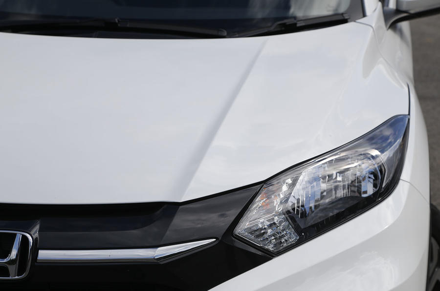 The purposeful Hond-esque grille on the HR-V