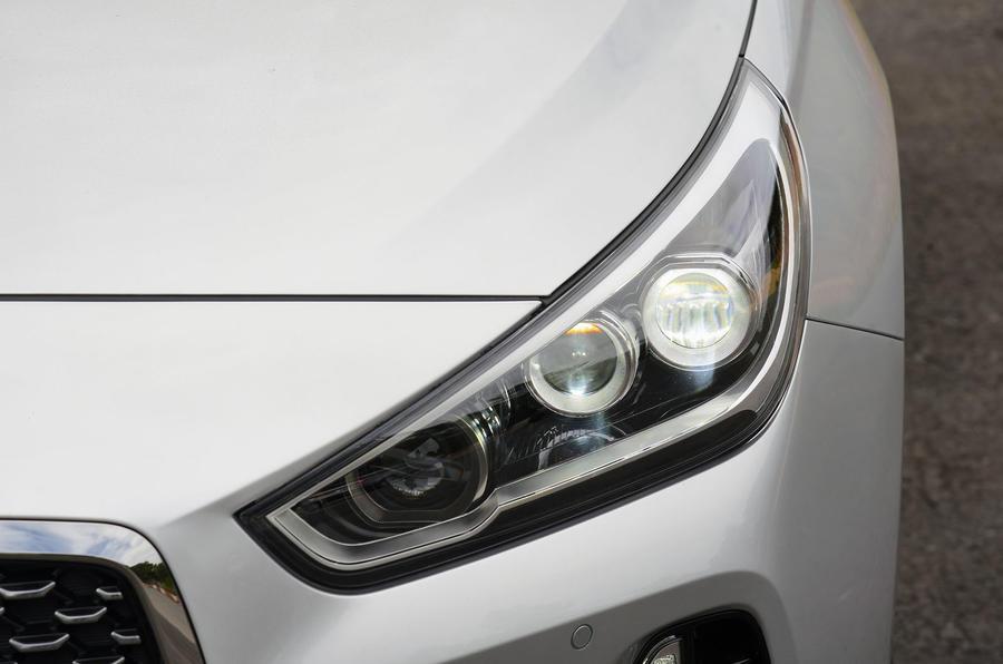 Hyundai i30 LED headlights