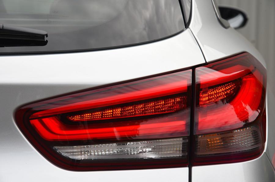 Hyundai i30 rear LED lights