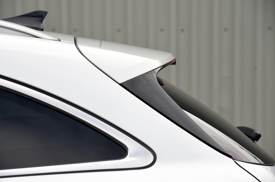 Hyundai i30 rear spoiler