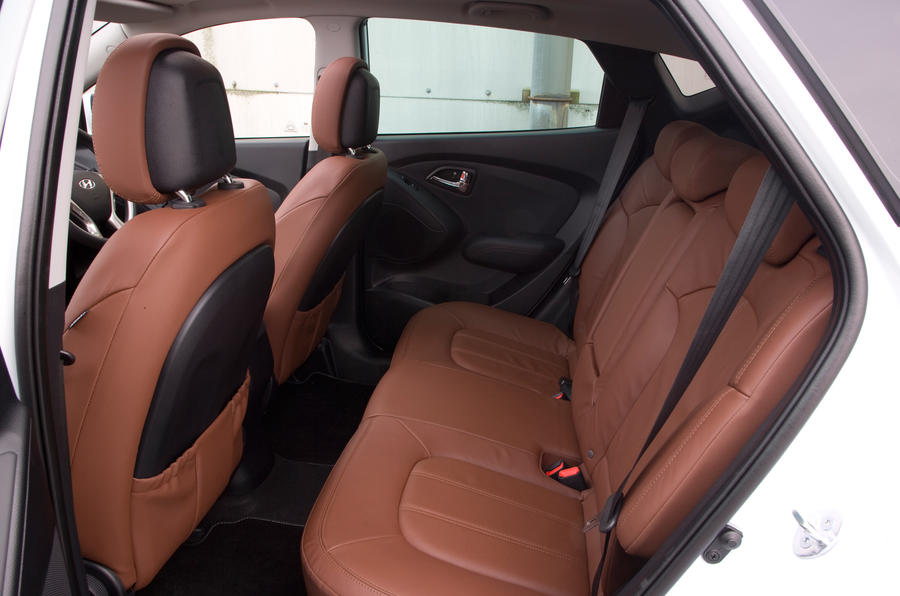 Hyundai ix35 rear seats