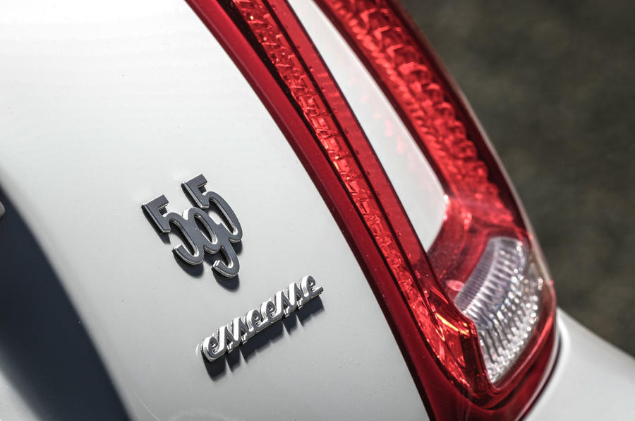 Abarth 595 Essesse 2019 first drive review - rear lights