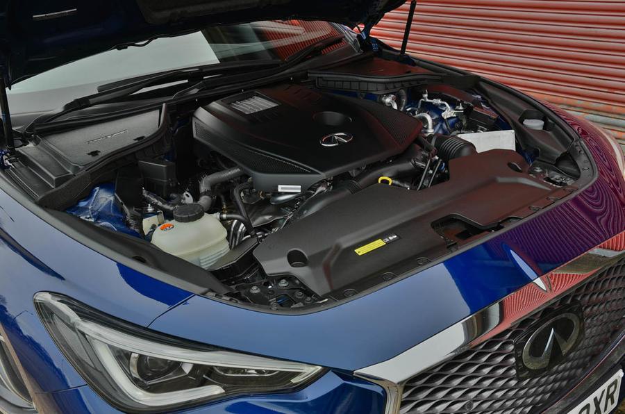 2.0-litre Infiniti Q60 petrol engine
