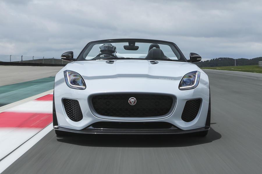 £130,000 Jaguar F-Type Project 7