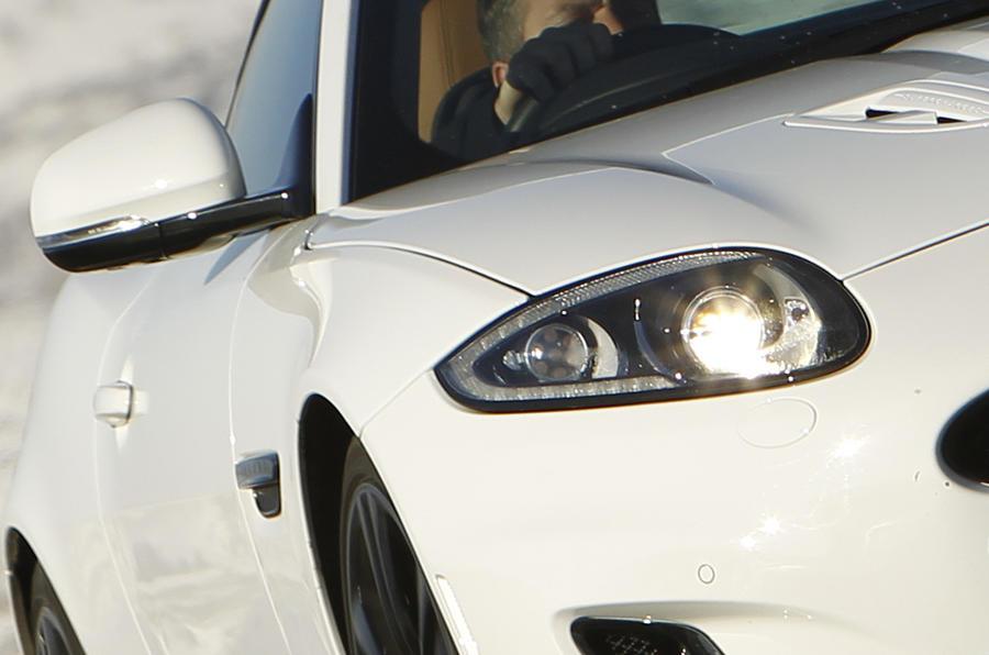 Jaguar XK xenon headlights