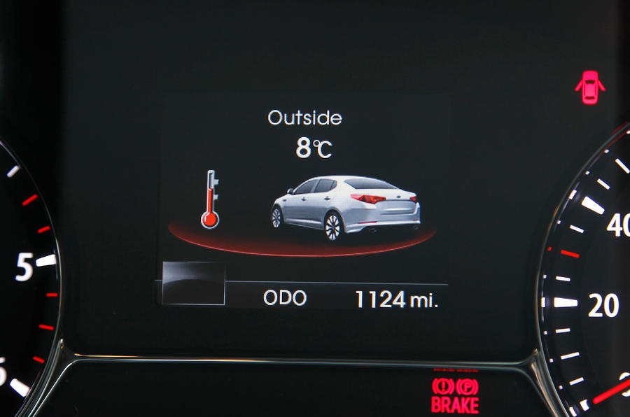 Kia Optima information display