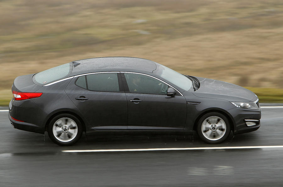 Kia Optima side profile