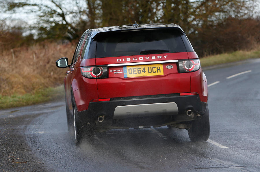 ...while the Discovery Sport can be threaded along with linear delicacy unafforded to most hatches